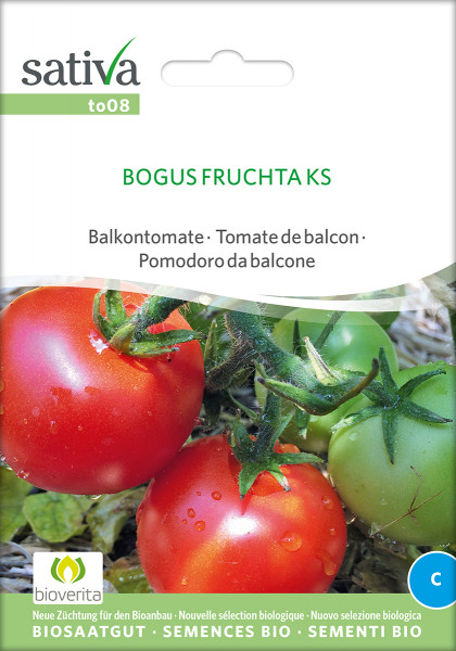 Buschtomate BOGUS FRUCHTA (demeter-Biosaatgut)