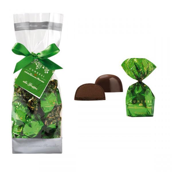 Schokoladenpralinen mit Grappa, Piemont