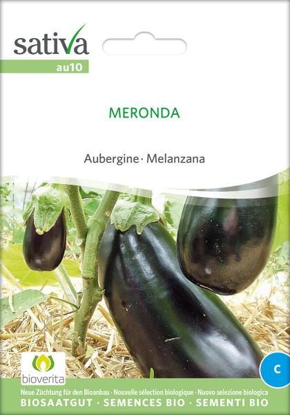 Aubergine Meronda (demeter-Biosaatgut)