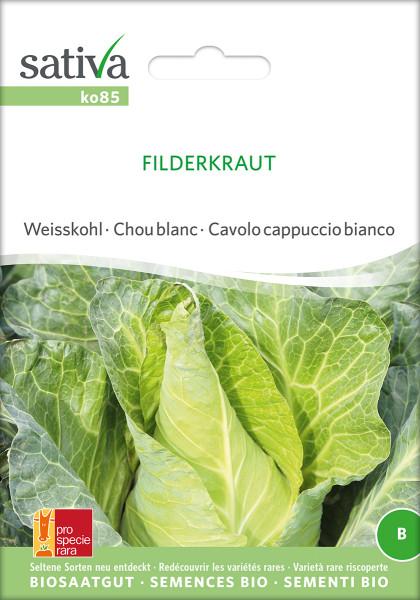 FILDER - SPITZKRAUT - (demeter-Biosaatgut)