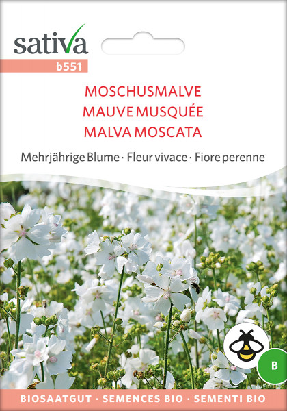 Moschusmalve (demeter-Biosaatgut)