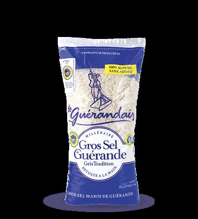 grobes Meersalz (ungewaschen, handgeschöpft) aus der Guérande g.g.A. 1 kg