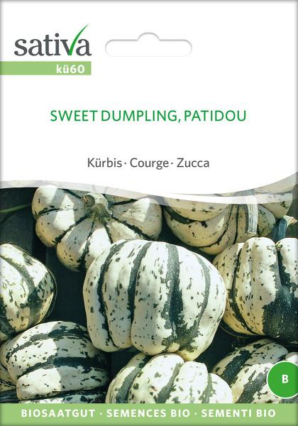Kürbis PATIDOU (Sweet Dumpling) Biosaatgut (demeter)