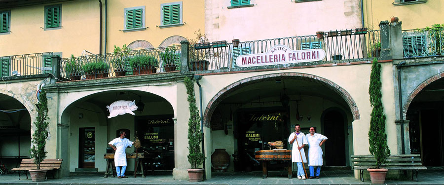 Falorni, Alte Metzgerei, Greve in Chianti