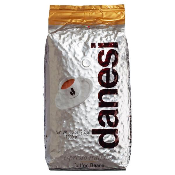 Espresso Oro von Danesi, ganze Bohnen, 1 kg 100 % Arabica