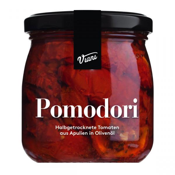POMODORI - Halbgetrocknete Tomaten in Öl