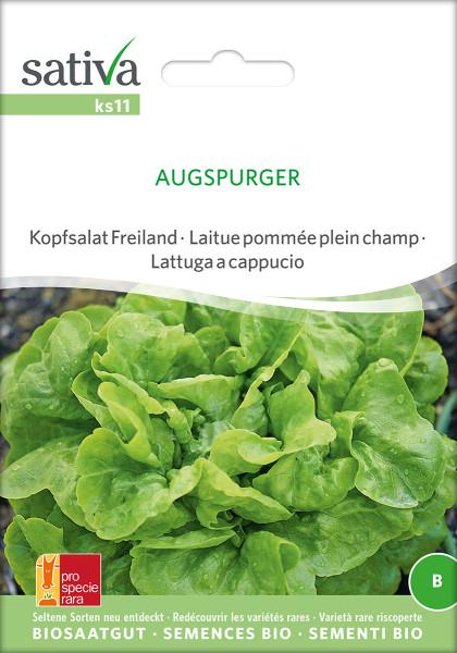 Kopfsalat AUGSPURGER (demeter - Biosaatgut (PSR)