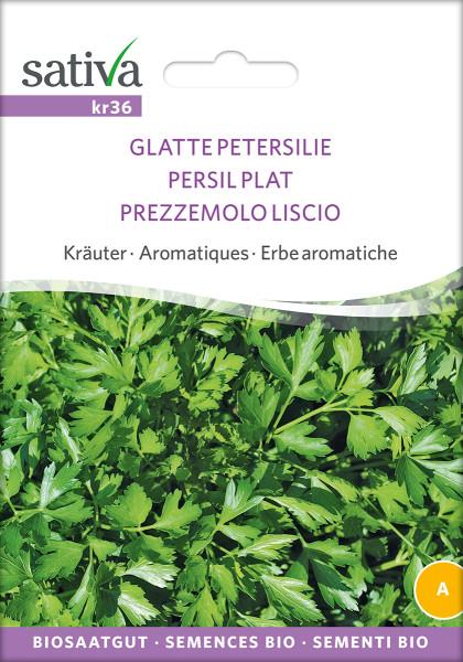 Petersilie, glatte (demeter-Biosaatgut)