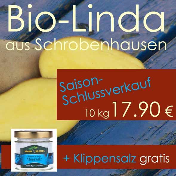 Aktion: Linda-Saisonschlußverkauf - Klippensalz gratis dazu