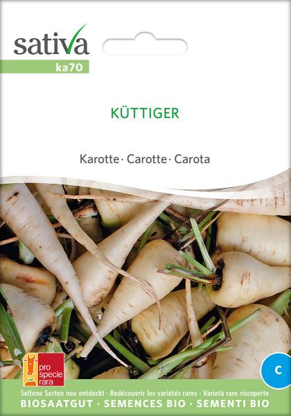 Karotten 'KÜTTIGER' (demeter-Biosaatgut /PSR)