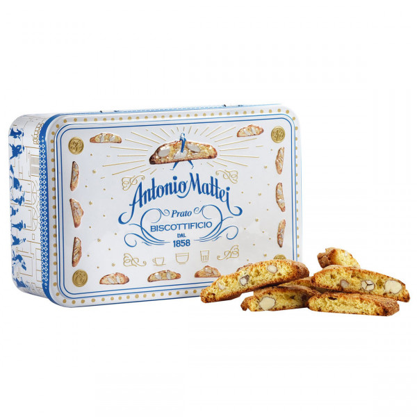 Geschenkdose Biscotti di Prato, Mattei, Toskana