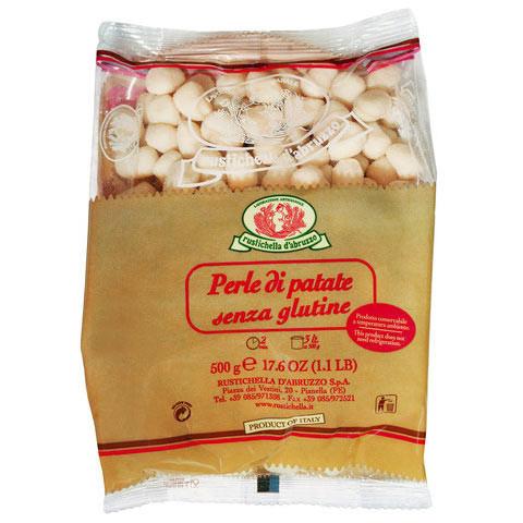 Perle di patate, kleine Kartoffelklößchen aus den Abruzzen