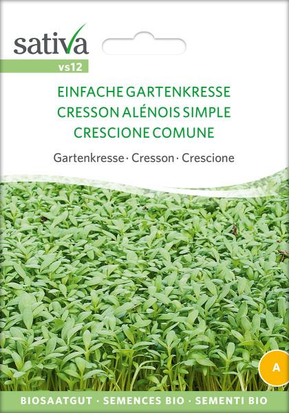 EINFACHE GARTENKRESSE (demeter-Biosaatgut)