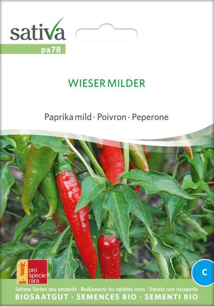 Paprika WIESER MILDER (Saatgut - demeter/PSR)