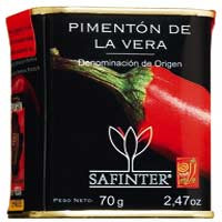 Geräuchertes Paprikapulver aus der Estremadura DO, mild-süß