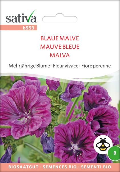 Blaue Malve (Saatgut demeter)
