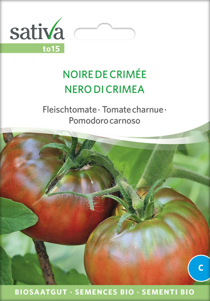 Tomate NOIRE DE CRIMÉE (demeter-Biosaatgut)