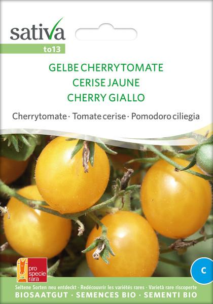 Tomate GELBE CHERRYTOMATE (Biosaatgut/ PSR)