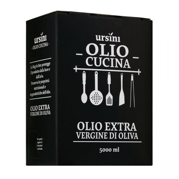 Olio extravergine di oliva, Ursini, 5 l Bag in Box, Abruzzen
