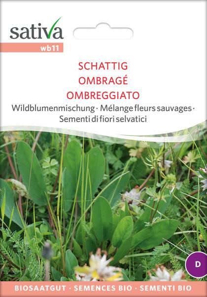Wildblumenmischung für schattige Standorte (Biosaatgut)