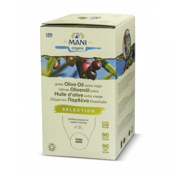 MANI - Koroneiki Olivenöl (bio) 3l