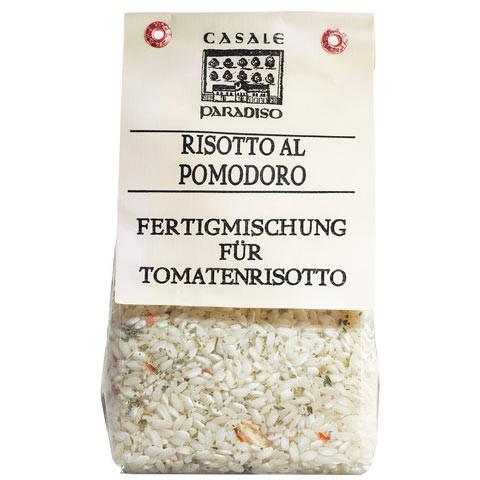 Risotto al Pomodoro, mit getrockneten Tomaten