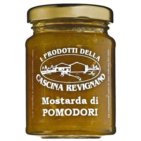 Mostarda di pomodori verdi, Grüne-Tomaten-Sauce für Käse