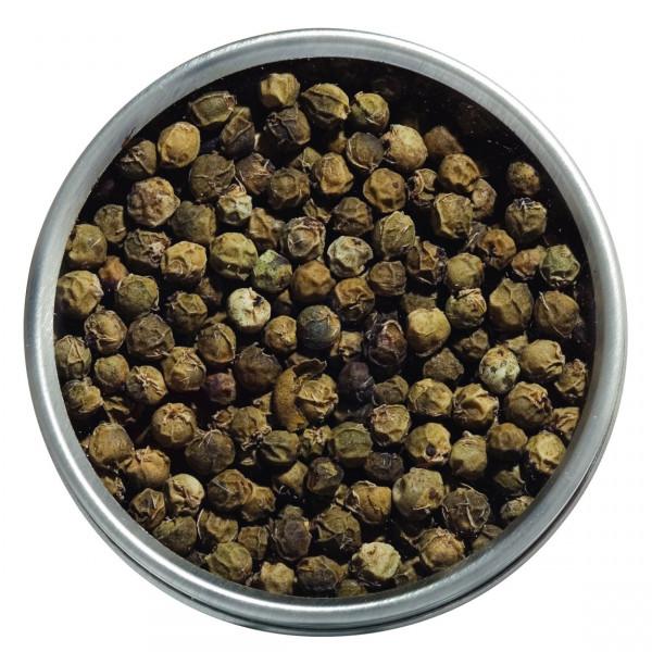 Urwaldpfeffer, grün, Bio, ganze Körner, aus Kerala