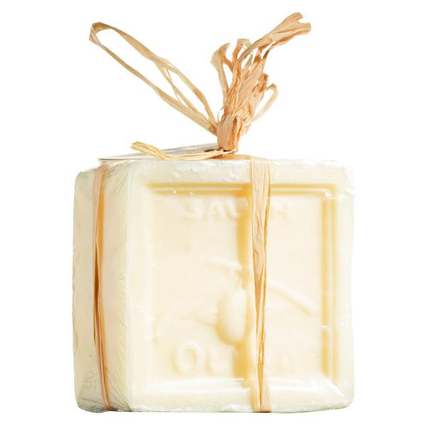 Olivenöl-Seife ohne Parfüm in Geschenkverpackung
