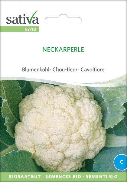 Blumenkohl 'NECKARPERLE' (demeter-Biosaatgut)