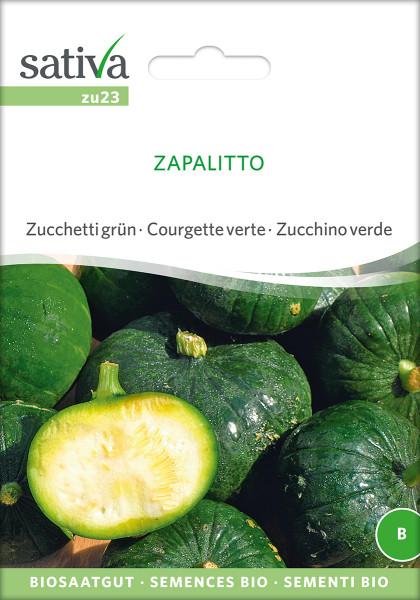 Zucchini rund Zapalitto (Biosaatgut - demeter)