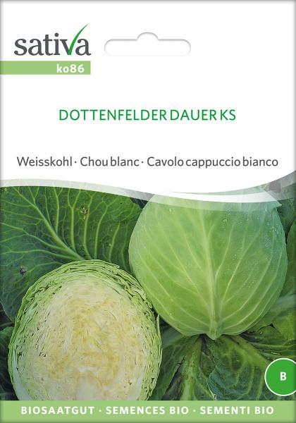 Weisskohl 'DOTTENFELDER DAUER' (demeter Biosaagut)
