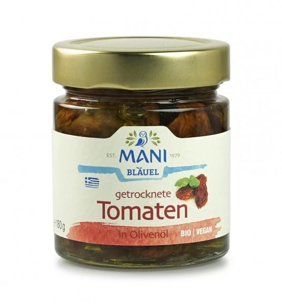 MANI - getrocknete Tomaten in Mani-Olivenöl (bio)
