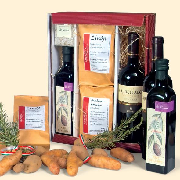Kartoffeln & Wein - Unser beliebtes Geschenkpaket