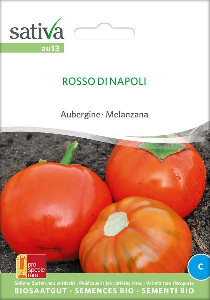Aubergine ROSSO DI NAPOLI (Bio-Saatgut)