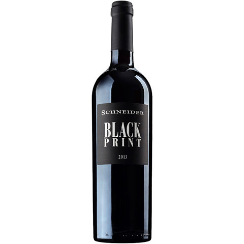 Blackprint 2016 - das Rotweincuvée von Markus Schneider