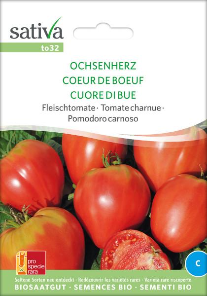 Tomate OCHSENHERZ (Bio-Saatgut)