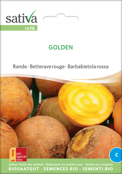 Rote Rüben GOLDEN (demeter-Biosaatgut/ PSR)