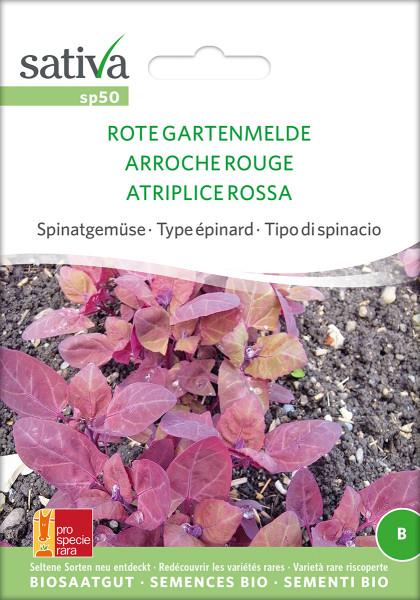 GARTENMELDE, Rote (Saatgut PSR/demeter)