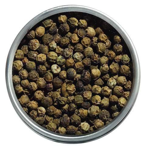 Grüner Urwaldpfeffer aus Kerala/Indien (bio)