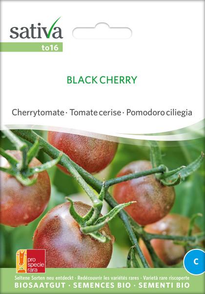 Cherrytomate BLACK CHERRY (demeter-Biosaatgut)