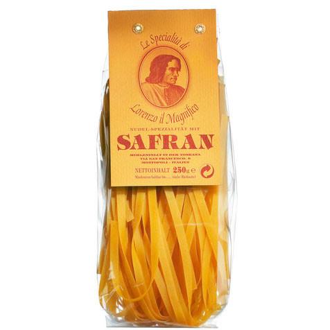 Tagliatelle/Linguine mit Safran, Hartweizengrießnudeln