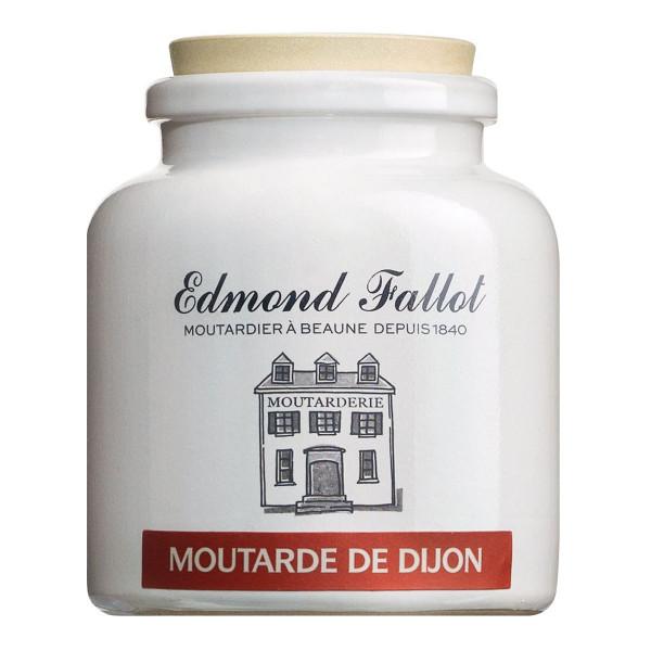 Dijon Senf fein & klassisch scharf im Steinguttopf