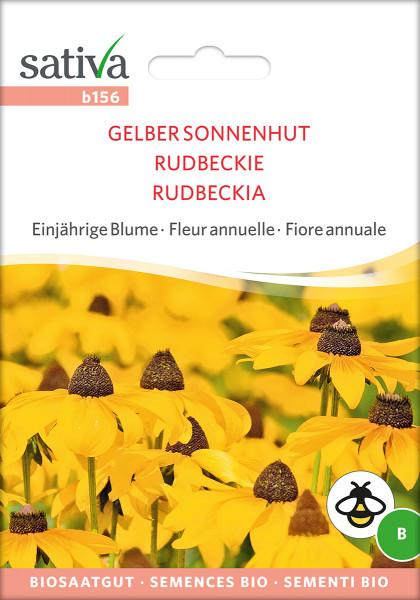 gelber Sonnenhut (Rudbeckia hirta) (Bio Saatgut)