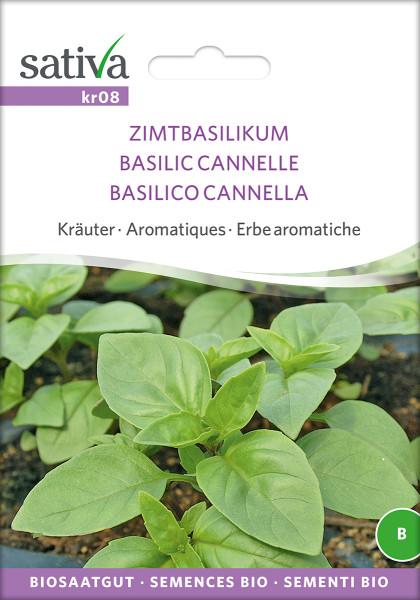 Basilikum, Zimtbasilikum, (Bio-Saatgut)