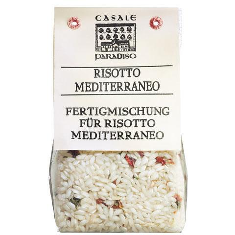 Risotto Mediterraneo, mit italienischem Gemüse