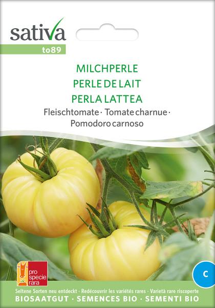 Tomate MILCHPERLE (demeter - Saatgutrarität/PSR)
