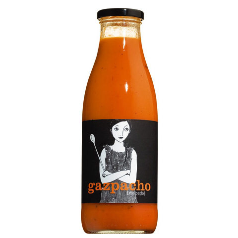 Gazpacho, Erfrischende Tomatensuppe