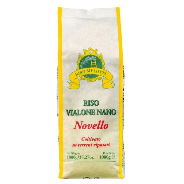 Vialone Nano Novello, Risotto-Reis aus Venetien