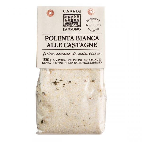 weisse Polenta mit Maronen, Polenta Bianca alle castagne, Abruzzen